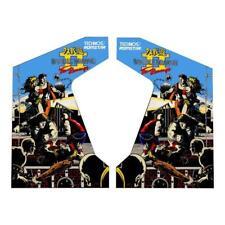 Double Dragon 2 - The Revenge Side Art Decals  - Brand New - Arcade Side Art