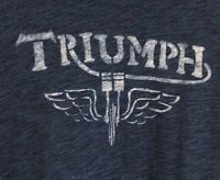 Triumph Motorcycles Lucky Brand Short Sleeve Men's T Shirt Medium Adult Large