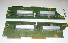 PANASONIC TH42PZ77U PLASMA TV SCAN DRIVE BOARD   TNPA4383, TNPA4384