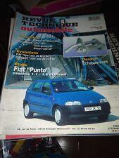 RTA revue technique automobile N° 566 FIAT PUNTO