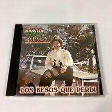 Ramon Ayala CD Y Los Bravos Del Norte 1999 Los Besos Que Perdi Mega Rare