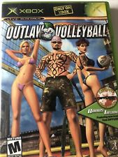 Outlaw Volleyball (Microsoft Xbox, 2003) Complete - Tested & Working Includes CD