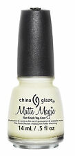 China Glaze Flat Finish Matte Magic Top Coat  .5oz - 81897