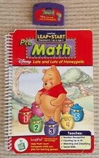 LeapPad Books/Cartridges. Pre Math and Phonics. Make learning fun!