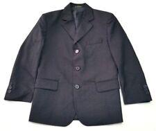 Demantie Boys 8 Black Blazer Suit Jacket Sport Coat  Dressy Formal