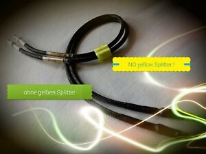 Cosmic-Audio HARD-TIMES handmade Audio Cable Kabel, without yellow Splitter !/