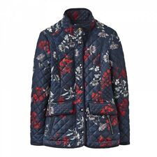 Joules Newdale Quilted Ladies Jacket Floral Size 10 (02)