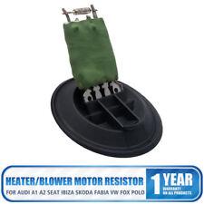 Heater Blower Motor Fan Resistor For VW Polo MK4/MK5 9N 6R,Fox 5Z,Skoda Fabia
