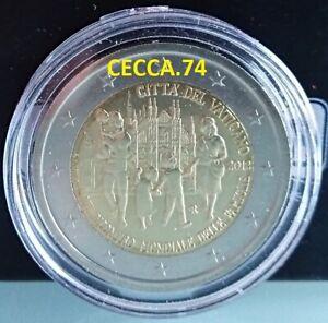 VATICAN 2 EURO 2012 BU COMMEMORATIVE EN CAPSULE