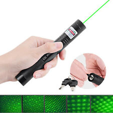 Hot 5mw 523NM 405NM 650NM Green Blue Red Laser Pen Burning Laser Pointer Pen