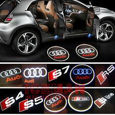 Türlicht LED Beleuchtung Audi Logo Laser Projektor A3 A4 A5 A6 A7 Q3 Q5 Q7 TT R8