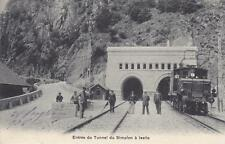 A6070) TRAFORO DEL SEMPIONE, ENTRATA DEL TRAFORO A ISELLE