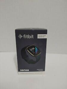 Open Box Fitbit Sense Fitness Health & Stress Tracker Smartwatch -  Graphite