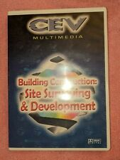 Building Construction: Site Surveying & Development, Dvd, 2003, Cev Multimedia