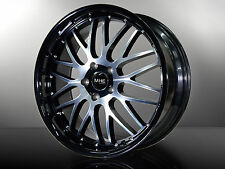 MHE Strada Black Alufelgen 19 Zoll Mercedes BMW 1er 3er 4er M Z4 Performance 659