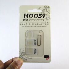 ✔ NOOSY 4 in 1 Sim Card Adapter-Nano To Micro,Nano To Regular,Micro To Regular ✔