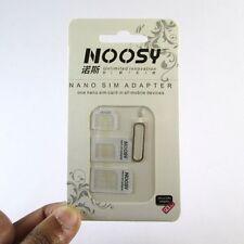 ✔ NOOSY 4 in 1 Sim Card Adapter-Nano To Micro,Nano To Regular,Micro To Regular ✔