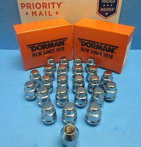 20 Wheel Lug Nuts Font & Rear M14-1.50 Replace OEM # 711605 CHROME
