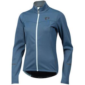 PEARL iZUMi Ladies / Women's Bike Select Escape Softshell Jacket Blue Steel