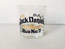 vintage Jack Daniel's old no. 7 rocks low ball glass 8 oz.