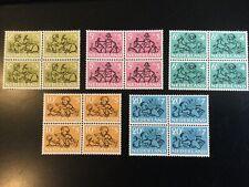 Nederland, Kinderzegels 1952, In Blok, Postfris + Mast Plaatfout, Lees!