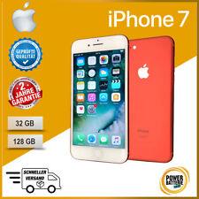 Apple iPhone 7 - 128 GB ROT ✔️TOP ZUSTAND ✔️2 JAHRE GARANTIE ✔️OHNE SIMLOCK