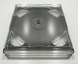 10x New Clear NTSC-U Chubby Quad Case PS1 PC replace rechange 3/4CD Multi Box