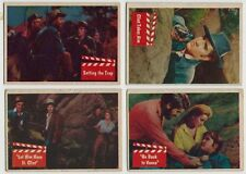 1956 Ask Elvis Presley Trading Card # 65 Clint Takes Aim