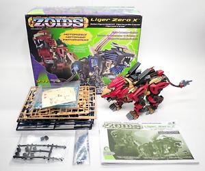 Hasbro Zoids - Liger Zero X #054 - 99% Complete - Unused Blue Parts - Working
