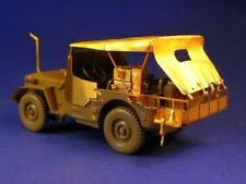 Minor 1/35 Canvas top for WWII Jeep