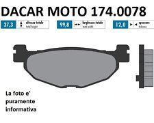 174.0078 PASTIGLIE FRENO ORIGINAL POLINI  YAMAHA T MAX 530 ie dal 2012->