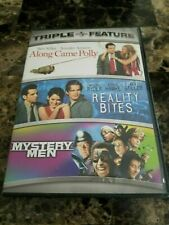 Along Came Polly / Reality Bites / Mystery Men (3 Dvd Set) Free Shipping