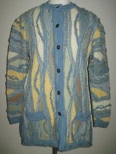 COOGI Cardigan Knitted Sweater - Rare. Size Medium.
