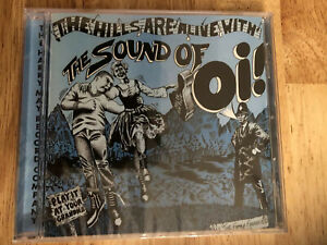 THE SOUND OF OI! CD  New Sealed Punk CD Oi! CD