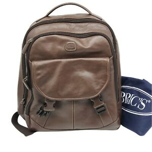 100% Authentic Bric's Brown Backpack