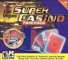 Las Vegas Super Casino Twin Pack (PC, 2004)  NTSC GAME BRAND NEW & SEALED!!!