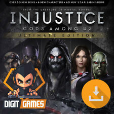 Injustice Gods Among Us Ultimate Edition - Steam Key / PC Game [NO CD/DVD]