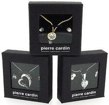 Pierre Cardin Ladies Pendant & Earrings Jewellery Set Valentines Day Gift Her