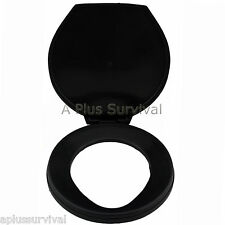Portable Camping Survival Emergency Toilet Seat Lid for 5 Gallon Buckets