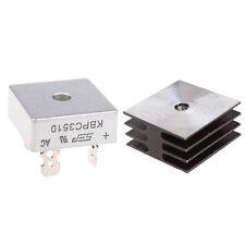 3Set 35A 1000V Metal Case Bridge Rectifier with Heatsink KBPC3510