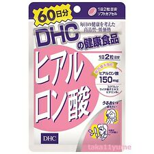 DHC 60 days Hyaluronic Acid Supplement  Beauty Skin Unisex Anti-Aging Japan
