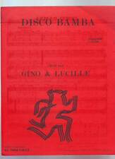 partition GINO & LUCILLE disco bamba