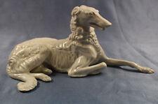 Barsoi porzellanfigur hundefigur figure figura Nymphenburg figur windhund