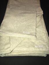 RARE! Rachel Ashwell Shabby Chic Linen Blend King Duvet & Pair Pillowcases USA
