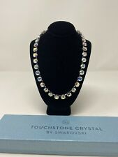 Touchstone Crystal by Swarovski AURORE BOREALE GLITZ Necklace NEW IN BOX