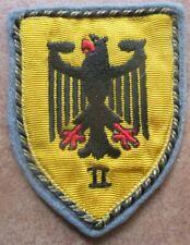 II Korps Ulm  Offiziersausführung  Patch