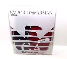 Emporio Armani Single Pack Trunk 1113896A729 Burgundy Size XL NEW