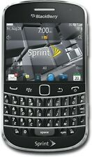 *LOT OF 5* AS-IS BlackBerry Bold 9930 Touch Sprint Smartphone w/CRACKED SCREEN