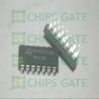 15PCS 74HC03 Encapsulation:DIP,Quad 2-input NAND gate