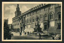 C1920s View of People & Cars, Palazzo Comunale, Bologna, Italy